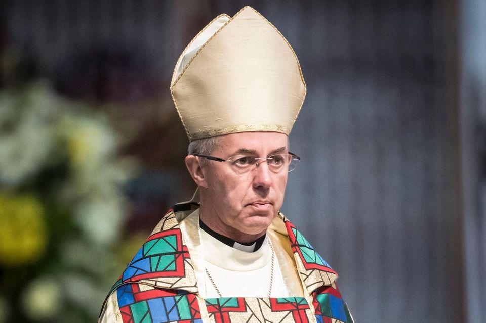 Erzbischof von Canterbury Justin Welby