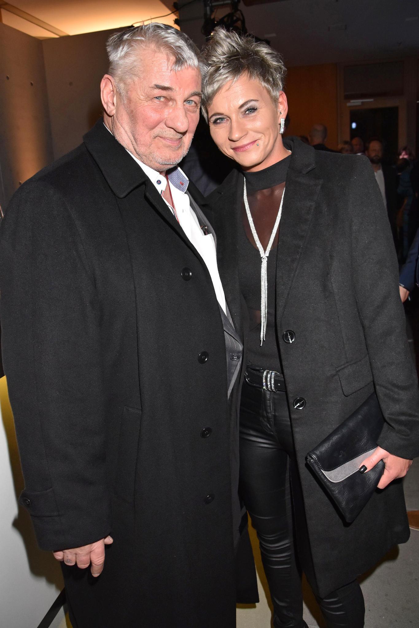 Heinz Hoenig und seine Frau Annika Kärsten-Hoenig