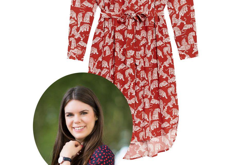 Online-Redakteurin Jessica testete das Tiger Love Kleid von Catwalk Junkie.