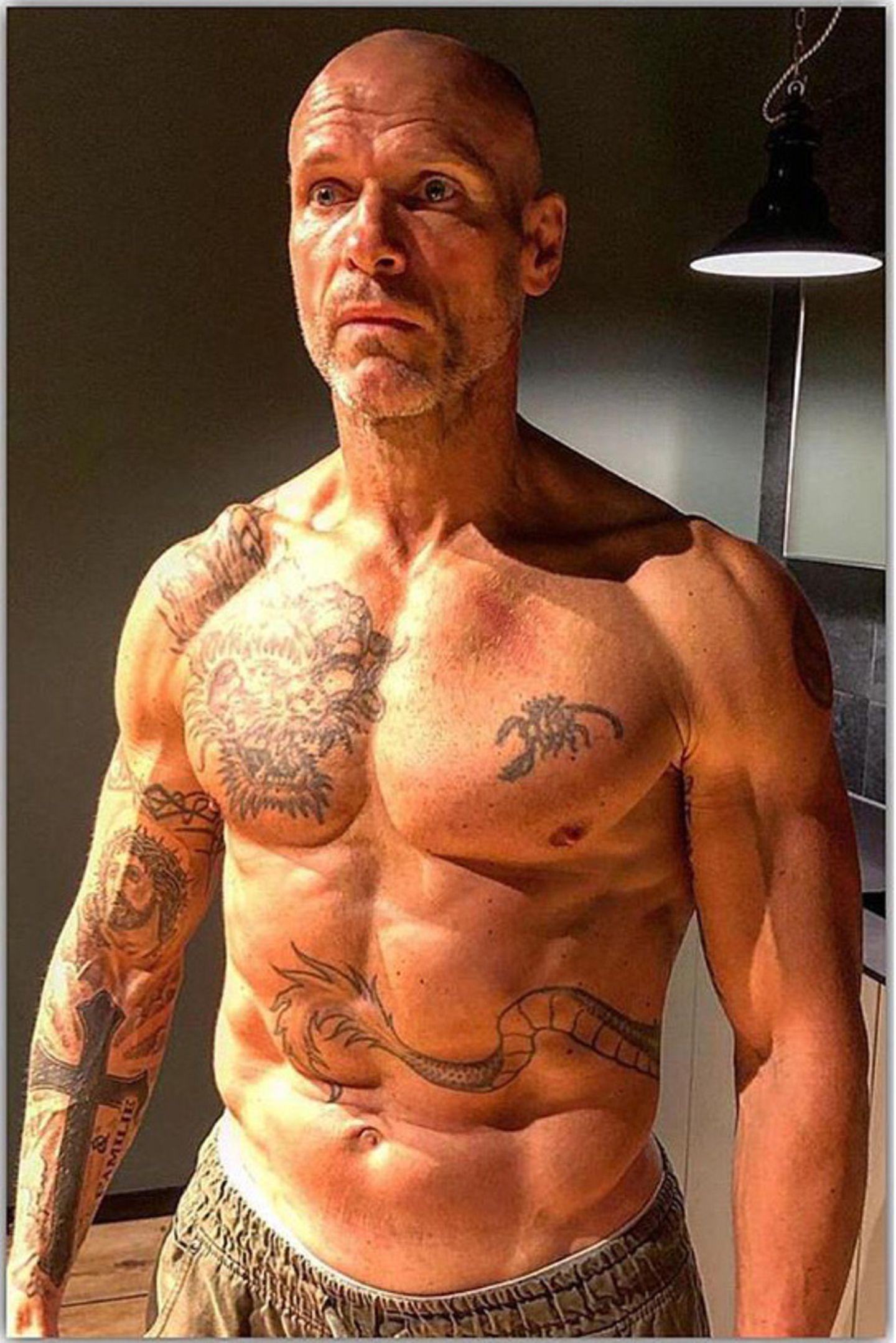 Thorsten Legat zeigt krasse Body-Transformation