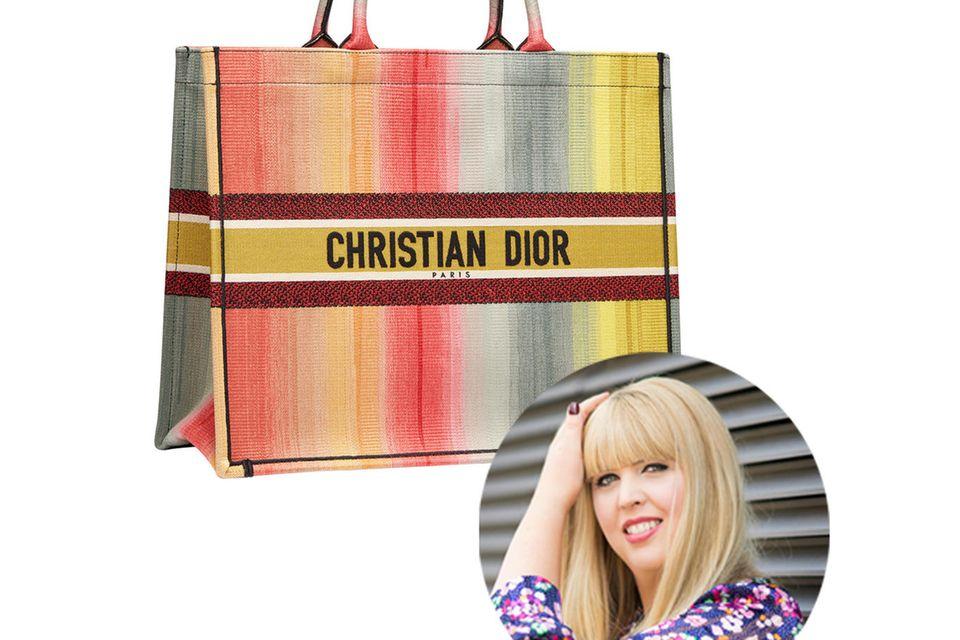"""Fashion-Director Nane liebäugelt schon lange mit einer neuen Designer-Bag. Ist die """"Dior Book"""" Tote Bag vielleicht das perfekte Modell?"""