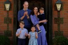 Prinz WIlliam, Herzogin Catherine mit den Kindern Prinz George, Prinzessin Charlotte und Prinz Louis