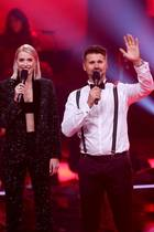 """The Voice of Germany""-Moderatoren Lena Gercke und Thore Schölermann"