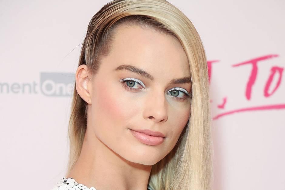 Nicht nur Margot Robbie ist Fan von weißem Eyeliner.