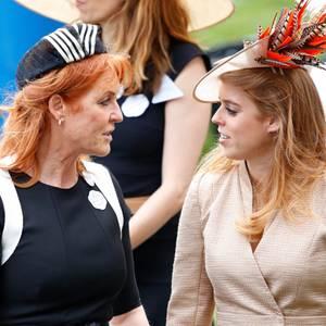 Sarah Ferguson und Prinzessin Beatrice