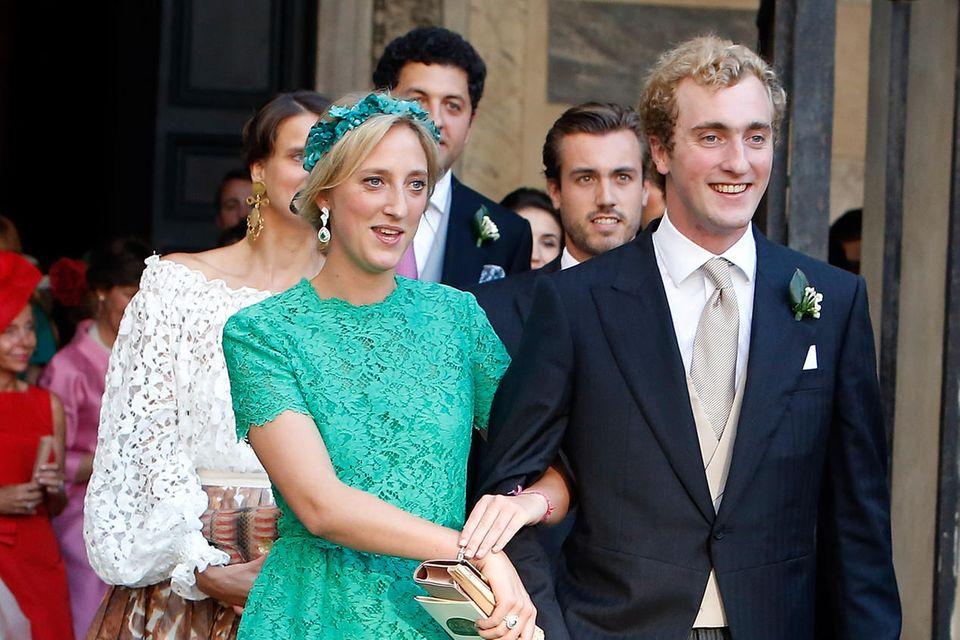 Prinz Joachim (r., hier mit seiner Schwester PrinzessinMaria-Laura).