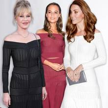 Melanie Griffith, Alicia Vikander & Herzogin Catherine