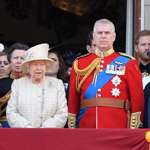 Queen Elizabeth und ihr Sorgenkind, Prinz Andrew.