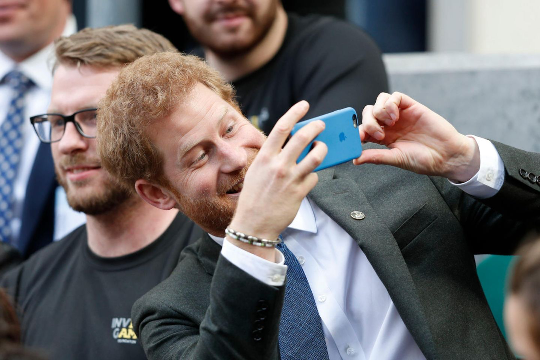 Prinz Harry soll heimlich einen Facebook-Account gehabt haben.