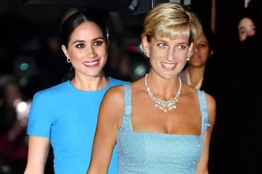 Herzogin Meghan und Lady Diana