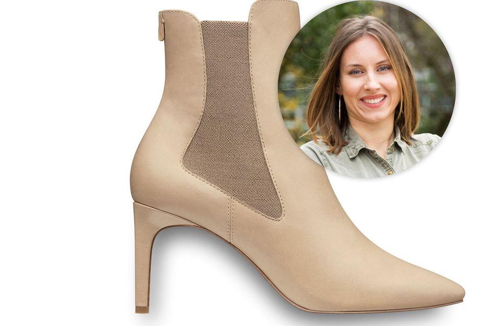 Kollegin Lara trägt am liebsten Sneaker – oder Heels, mit denen man Nächte durchtanzen kann