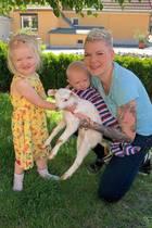 Melanie Müller freut sich gemeinsam mit ihrer Familie über tierischen Zuwachs: Sie haben ein Lämmchen aufgenommen. Tochter Mia Rose strahlt schon mal bis über beide Ohren. Der kleine Matty muss sich wohl noch an seinen neuen Fellfreund gewöhnen.