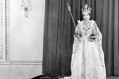 Queen Elizabeth Krönung 1953