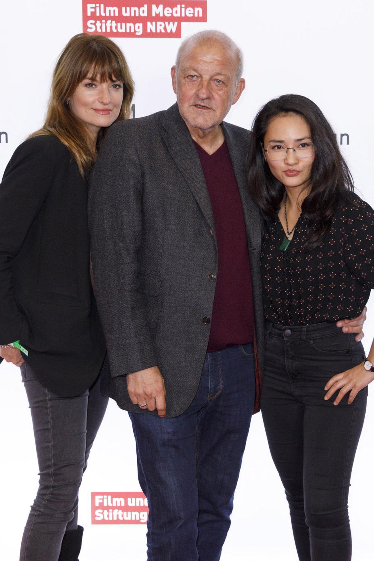 """Ina Paule Klink, Leonard Lansink und Mai Duong Kieu von der TV-Serie """"Wilsberg"""""""