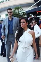 Kris Humphries und Kim Kardashian im Jahr 2011