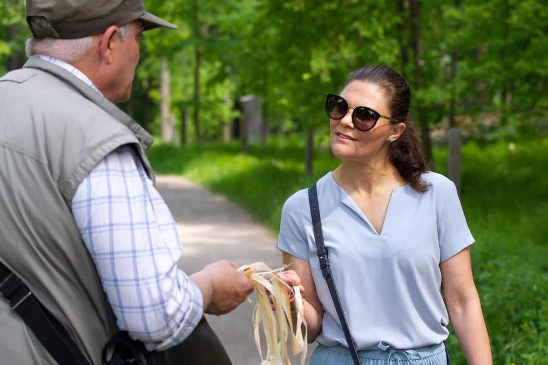 Die royalen Geschwister informieren sich dort über die Artenvielfalt und die Rolle des Parks zur Erhaltung von einzigartigen Naturgebieten.