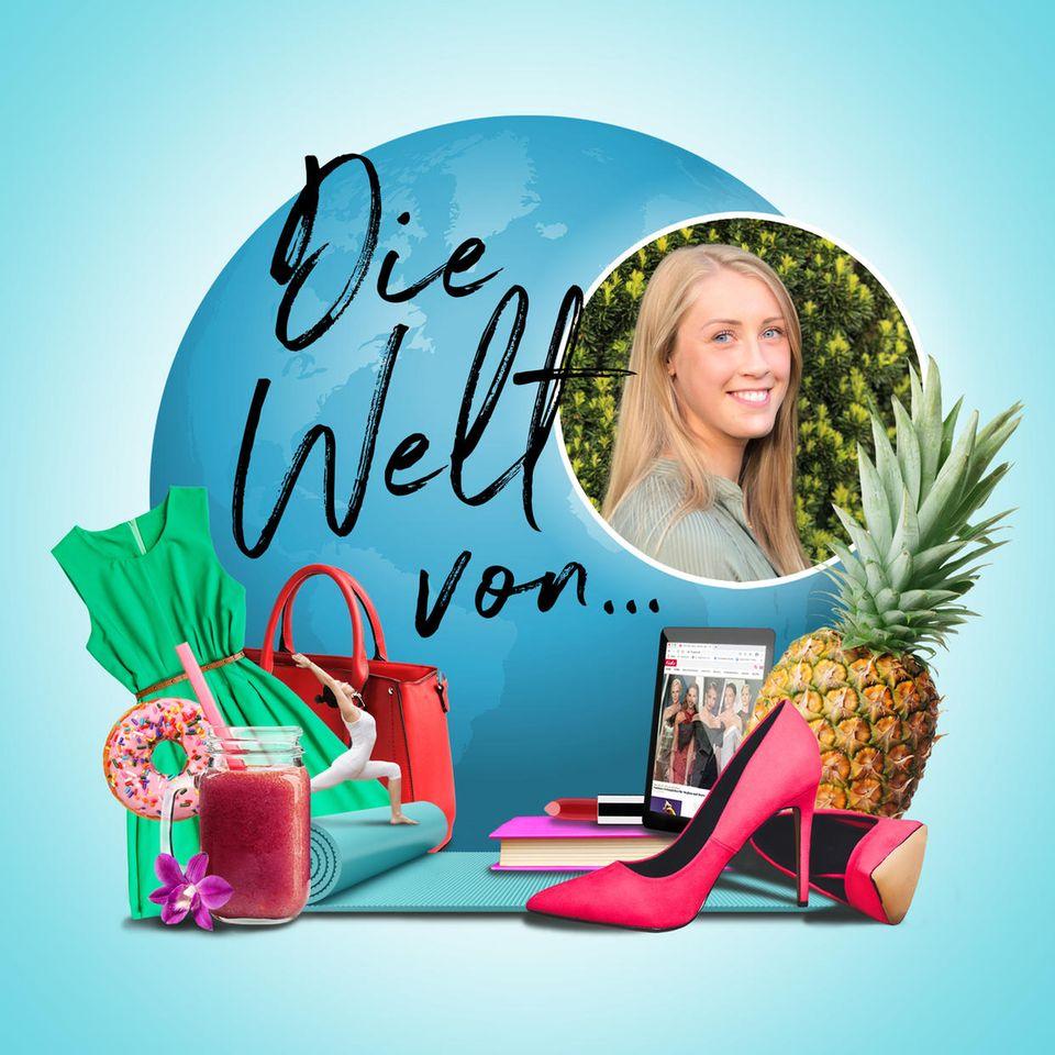 Die Welt von Laura, Kleid, Ananas, Smoothie, Tasche, Schuh