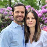 6. Juni 2020  Zum schwedischen Nationalfeiertag teilen Prinz Carl Philip und Prinzessin Sofia ein wunderschönes, neues Paarfoto auf ihrem Instagram-Profil.