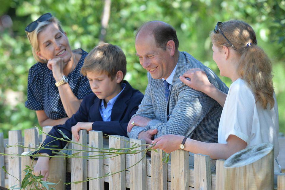 Gräfin Sophie, Prinz Edward, James und Louise