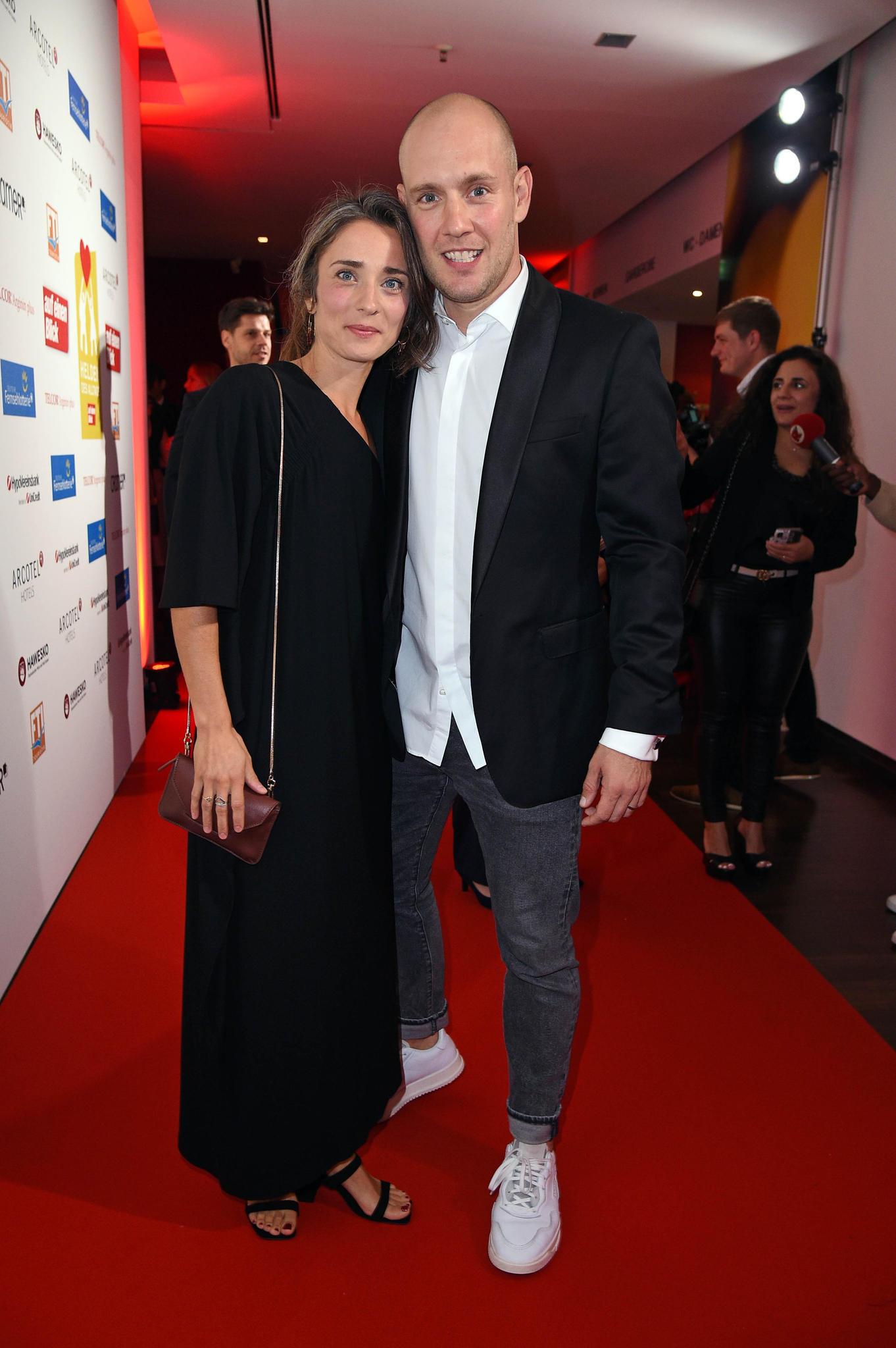 Oli P. und Ehefrau Pauline