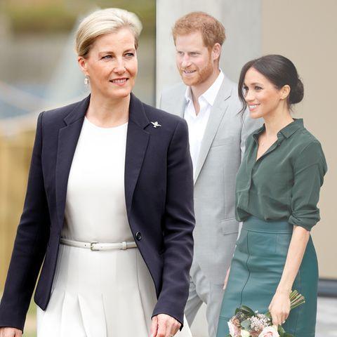 Gräfin Sophie von Wessex äußert sich zu Prinz Harry und Herzogin Meghan.