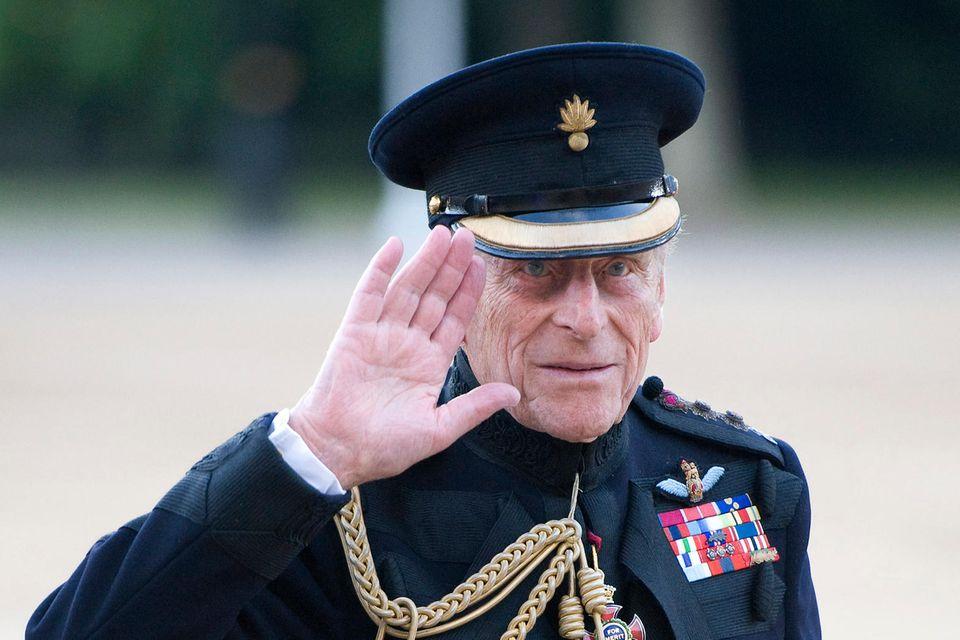 Prinz Philip feiert Geburtstag.