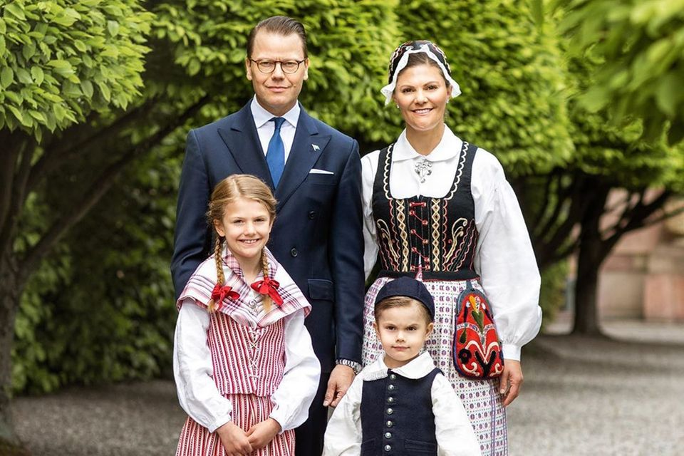 Prinzessin Victoria und ihre Familie