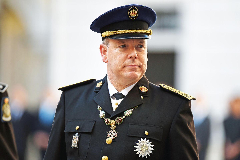 Fürst Albert von Monaco.
