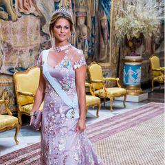 Prinzessin Madeleine beim Königsdinner 2019