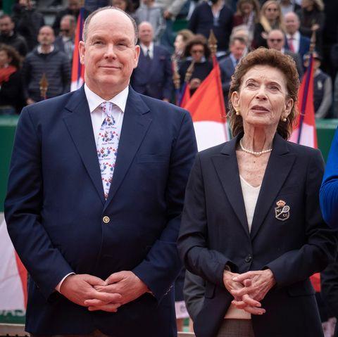 Fürst Albert undBaronin Elisabeth-Anne de Massy (†)