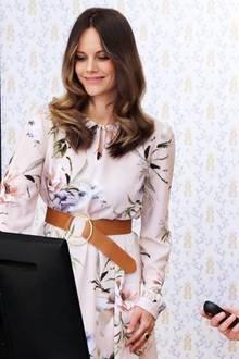 Prinzessin Sofia trägt Blumenkleid von Designerin Ida Sjöstedt