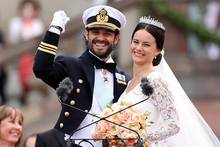 Kronprinz Carl Philip und Prinzessin Sofia