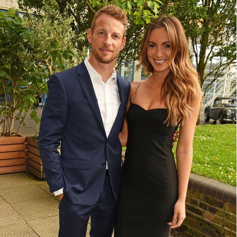 Jenson Button, Brittny Ward