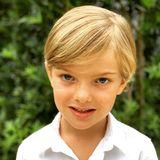 """15. Juni 2020  Prinzessin Madeleines Sohn Nicolas von Schweden feiert heute seinen fünften Geburtstag. Anlässlich seines großen Tages veröffentlicht Madeleine dieses Foto. Dazu schreibt sie: """"Herzlichen Glückwunsch zum Geburtstag an den gütigsten Bruder und den süßesten Sohn! Wir lieben Dich!"""""""