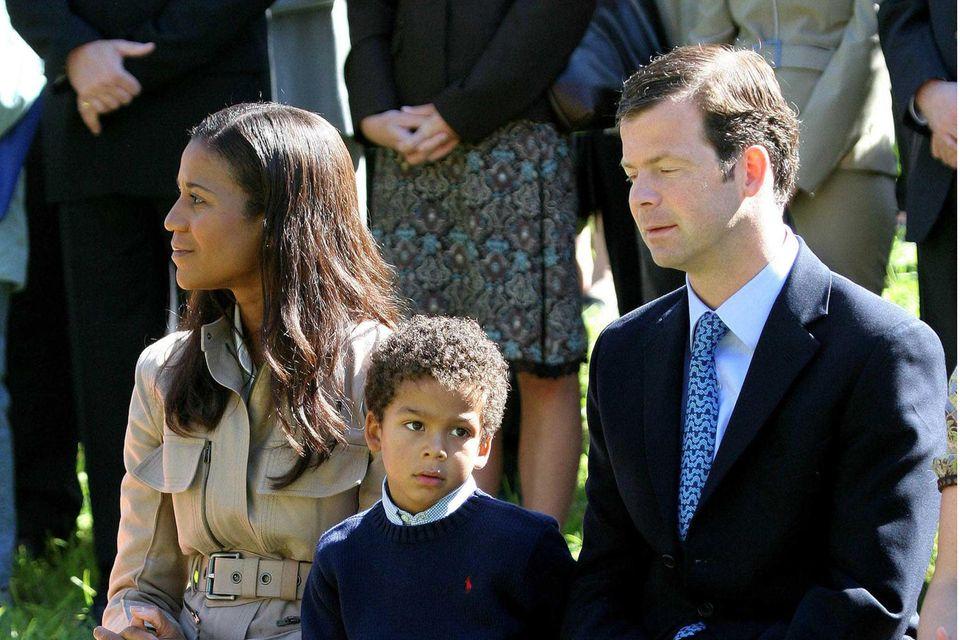 Prinzessin Angela, Prinz Alfons und Prinz Maximilian von Liechtenstein sind eine herzliche, bodenständige und stylische Familie.