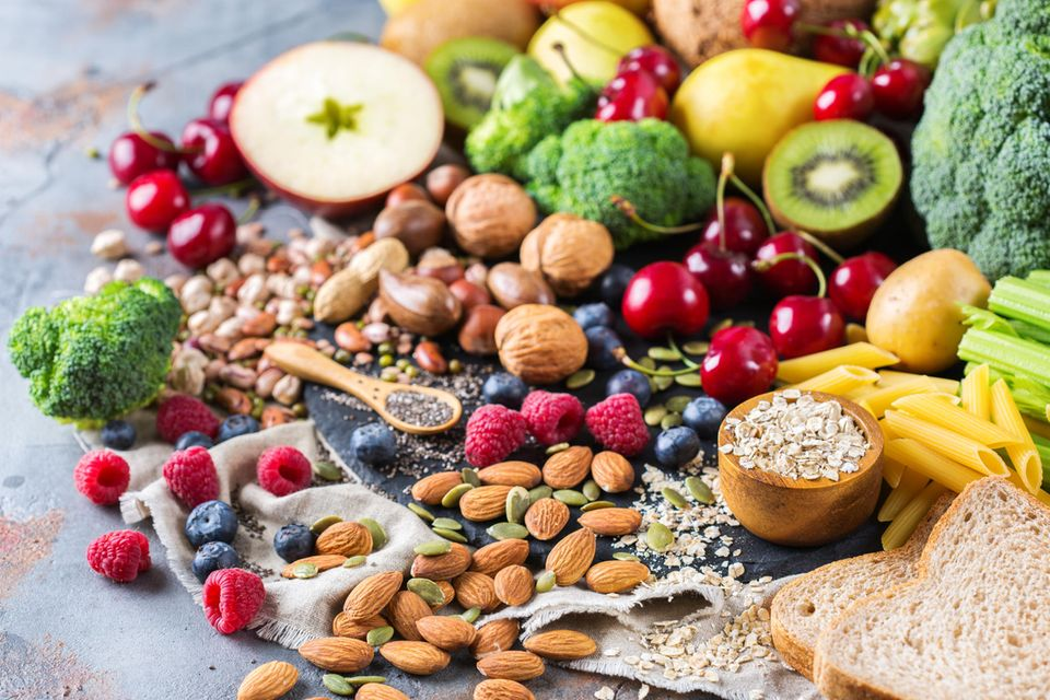 Schöne Haut bekommen durch vitaminreiche Lebensmittel.