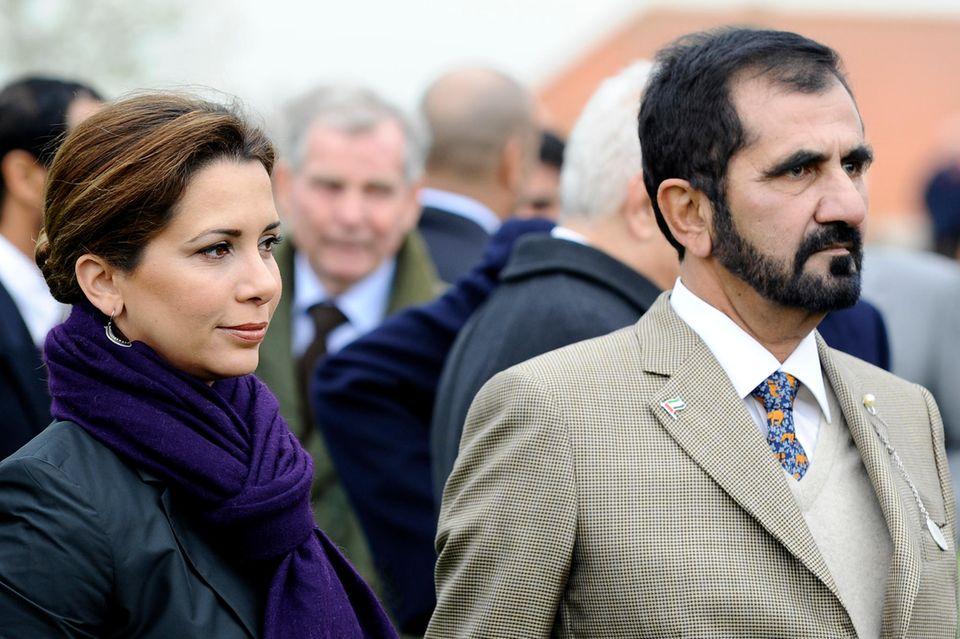 Prinzessin Haya undScheich Mohammed bin Raschid Al Maktoum