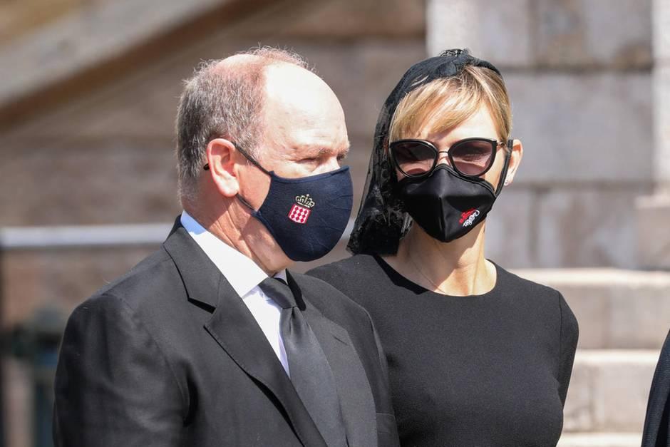 Fürst Albert + Fürstin Charlène: Große Trauer in Monaco