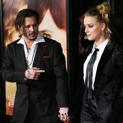 Johnny Depp und Ex-Frau Amber Heard