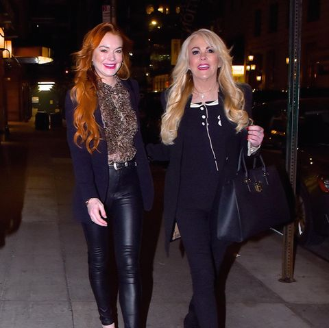 Lindsay + Dinah Lohan