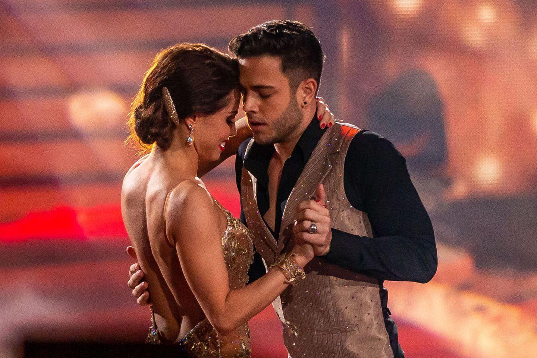 """Christina Luft und Luca Hänni während """"Let's Dance"""""""