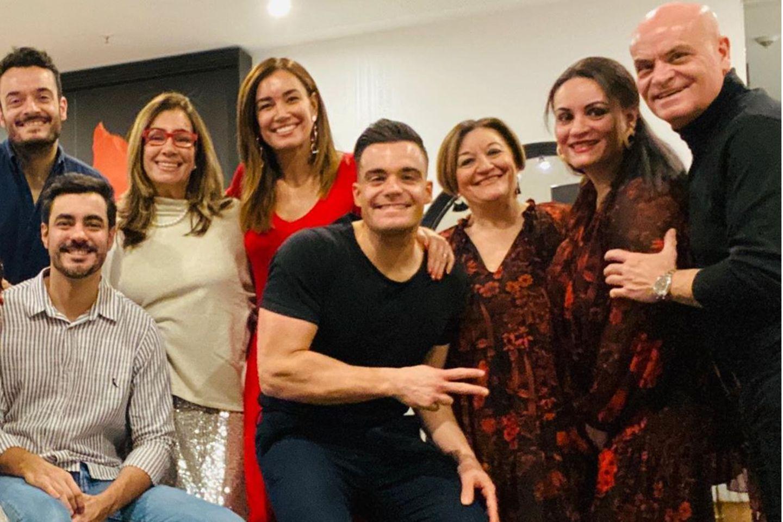 Die Familie vonGiovanni Zarrella und Jana Ina Zarella