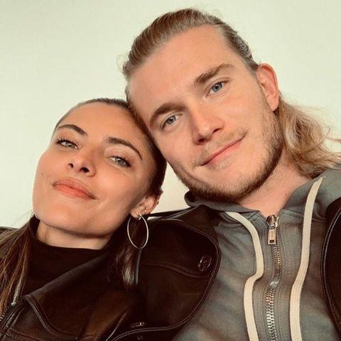 Sophia Thomalla postet dieses Foto mit ihrem Freund Loris Karius anlässlich des 27. Geburtstages des Fußballers