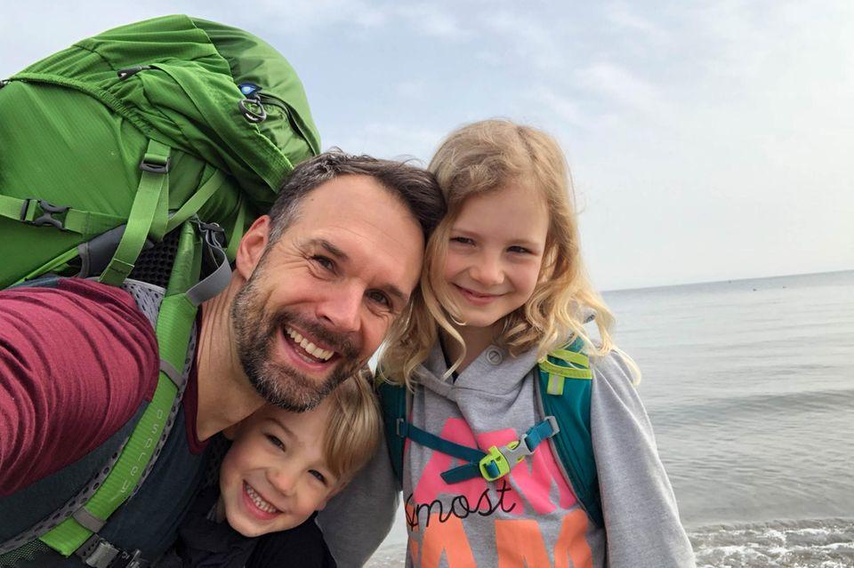 Christo Foerster und seine Kinder