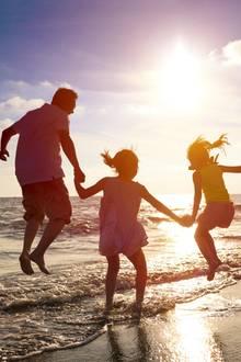 Sonnige Aussichten: Ferien am Meer!