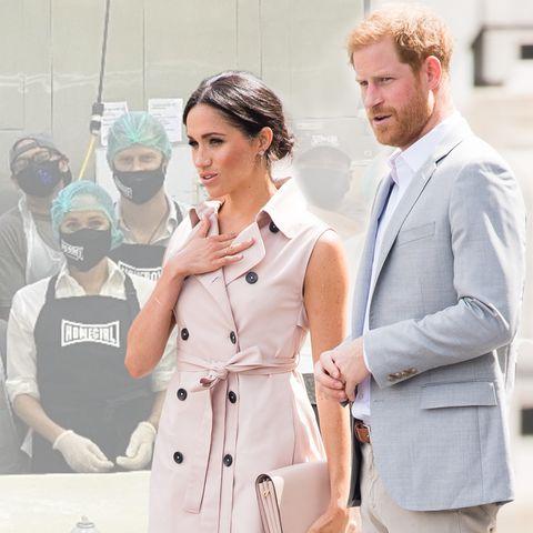 Herzogin Meghan + Prinz Harry: Erster Auftritt nach dem Megxit in den USA