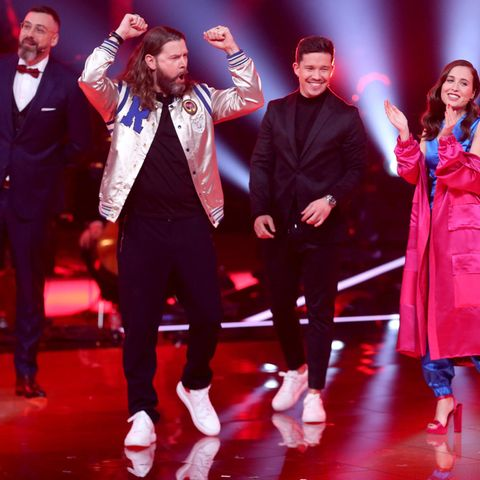 "Sido, Rea Garvey, Nico Santos und Alice Merton bei ""The Voice of Germany"""
