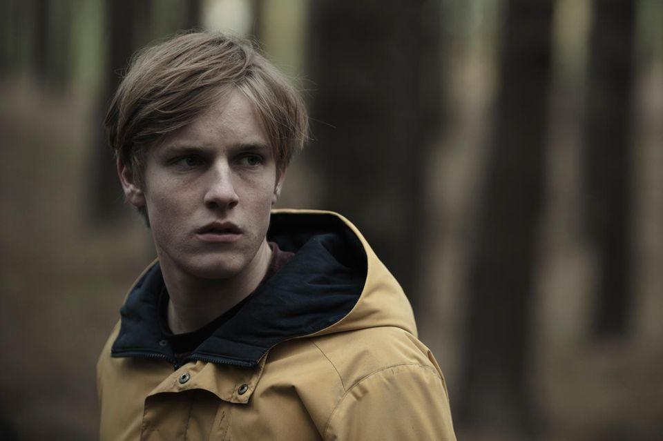 """Louis Hofmann als Jonas Kahnwald in """"Dark""""."""