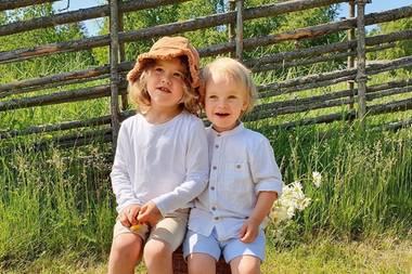 Prinz Alexander und Prinz Gabriel von Schweden