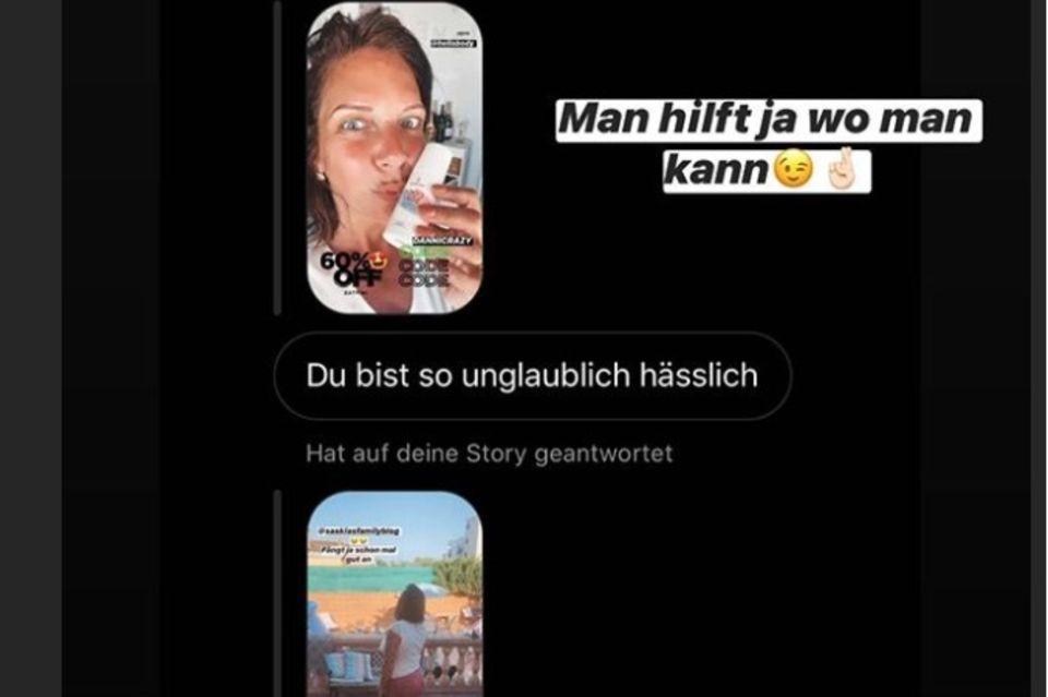 So fies wird Danni Büchner beleidigt